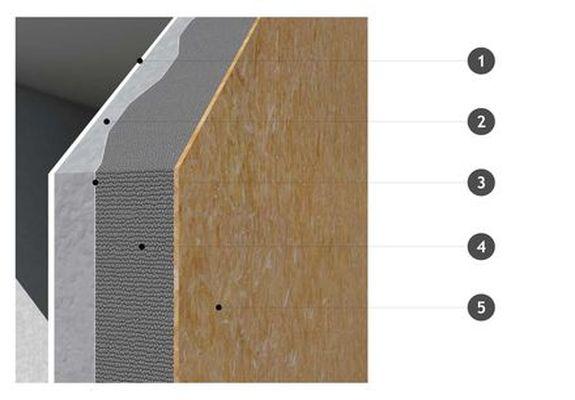 détail paroi containerStructure